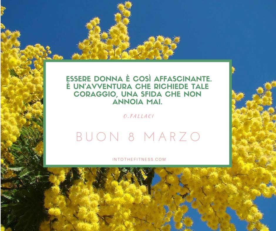 8 Marzo Festa Della Donna Auguri Into The Fitness